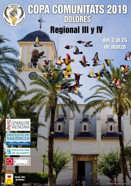 COPA COMUNITATS 2019 - REGIONAL III y IV