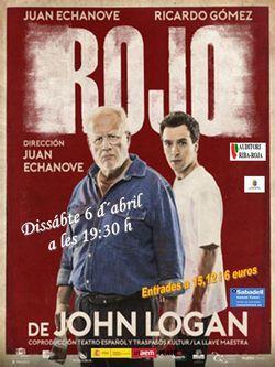 """Teatro:""""Rojo"""""""