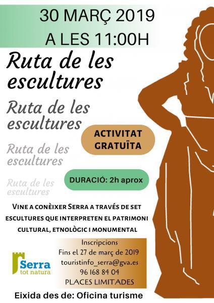 VISITA GUIADA RUTA DE LES ESCULTURES