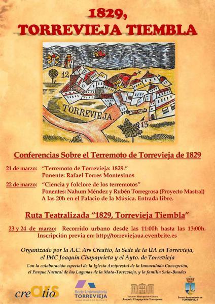 Terremoto Torrevieja 1829