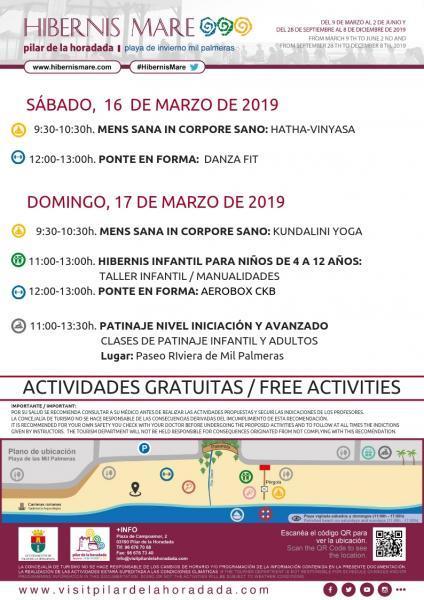 Hibernis Mare, tu playa de invierno Pilar de la Horadada 2019