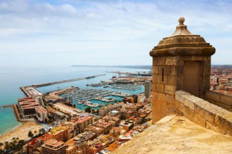 Historia y leyendas del Castillo de Santa Bárbara de Alicante