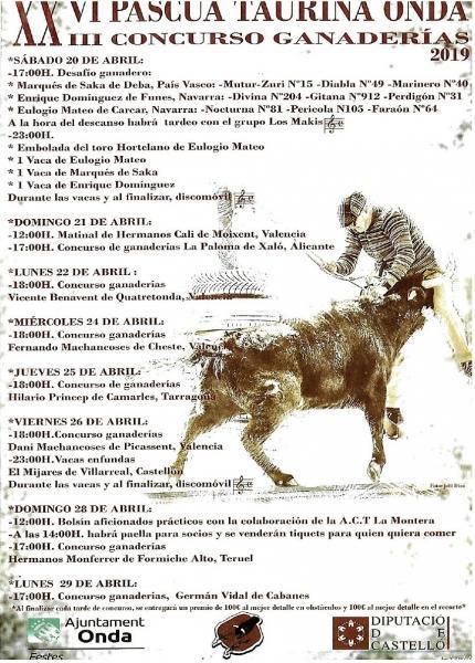 XXIV PASCUA TAURINA