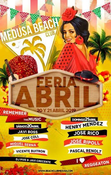 FERIA ABRIL MEDUSA FESTIVAL CULLERA