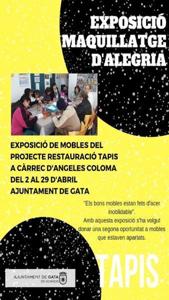 Exposició:Maquillatge d'Alegria