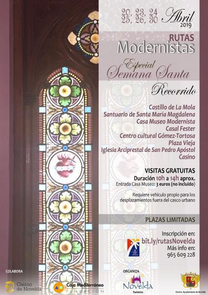Rutas Modernistas Especial Semana Santa