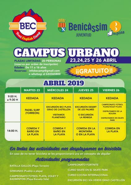 Campus urbano Beni English Camp