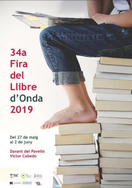 34ª FERIA DEL LIBRO DE ONDA 2019