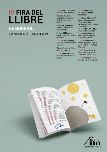 Fira del llibre Borriol