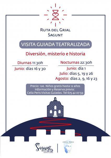 Visita Teatralizada Ruta del Grial. Sagunto 2019