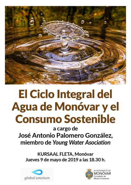 El ciclo del agua de Monóvar y el consumo sostenible