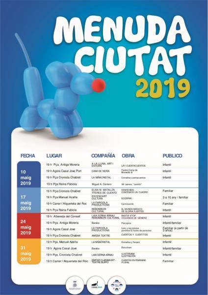 Festival de teatro Menuda Ciutat 2019
