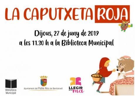 """Cuentacuentos """"La Caputxeta Roja"""""""