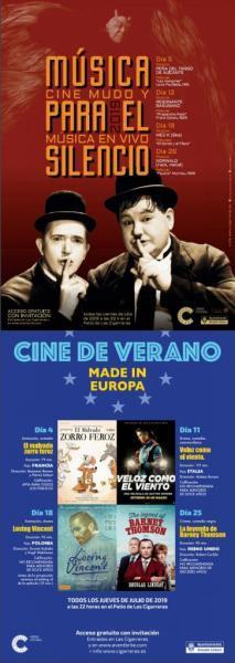 Cine en Las Cigarreras 2019