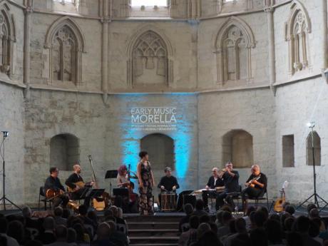 Feiern Sie in Morella den 20. Jahrestag des Festival de Música Antigua von Valencia