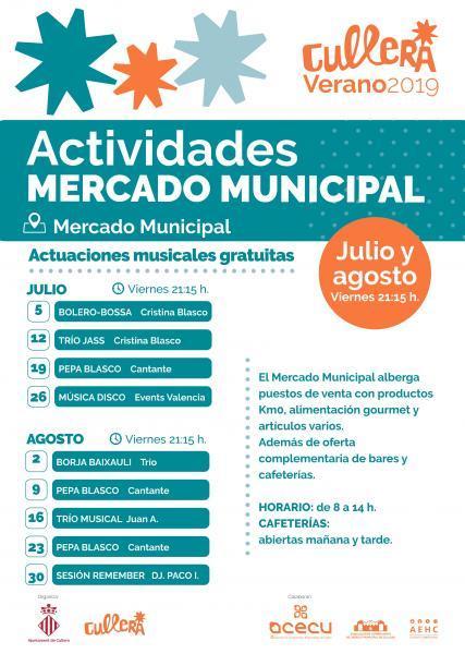 ACTIVIDADES MUSICALES MERCADO CULLERA