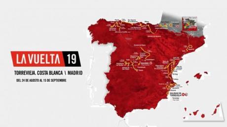 La Vuelta 2019. Salida desde Torrevieja