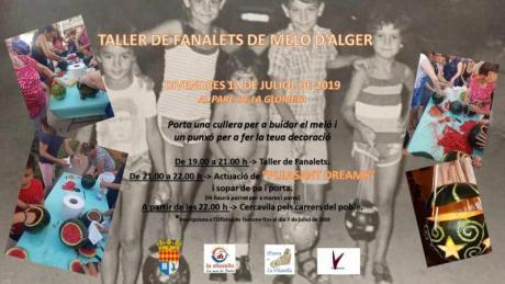 TALLERS DE FANALETS DE MELÓ D'ALGER