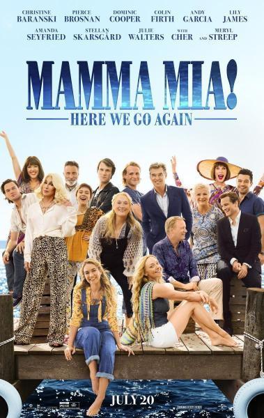 Cinéma Sur la Plage: Mamma mia! una y otra vez