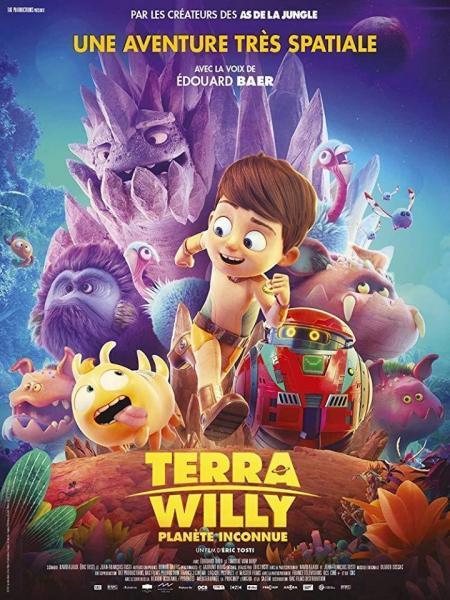 Cine animación: Terra Willy planeta desconocido