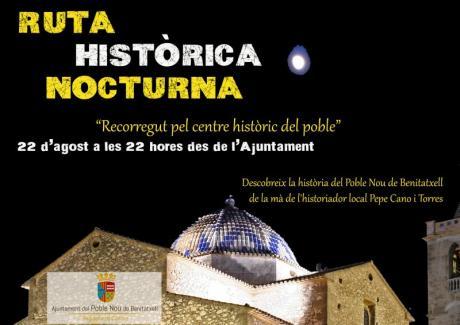 Ruta histórica nocturna