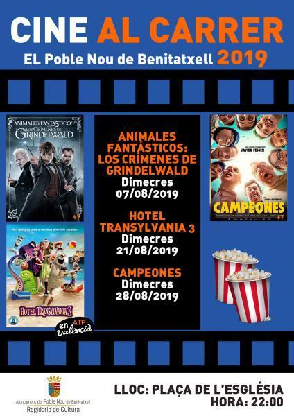 Cine al carrer 2019