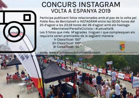 "Concurso Instagram ""Volta a Espanya 2019"""