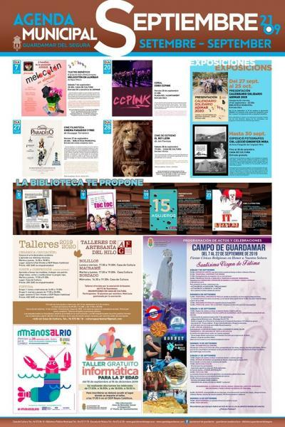 Agenda Cultural Guardamar Septiembre 2019