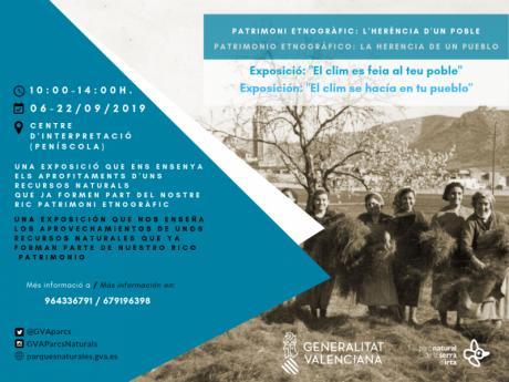 Exposición en Centro de Información del Parque Natural Sierra de Irta - Peñíscola