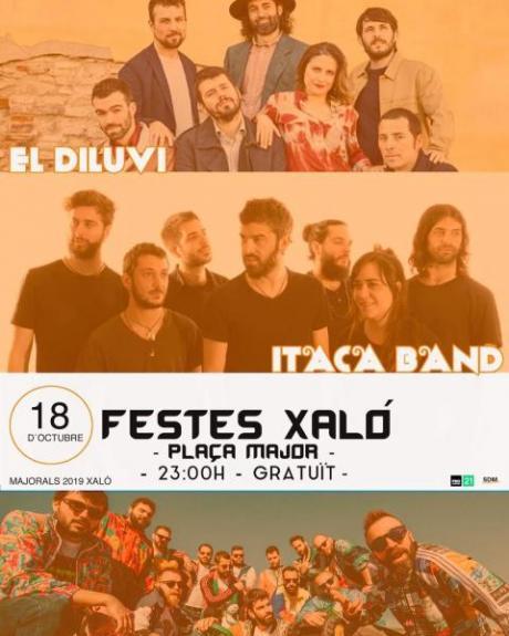 Fêtes Patronales Concerts Xaló 2019.