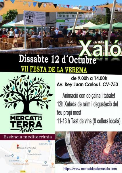 VII Harvest Festival in Xaló