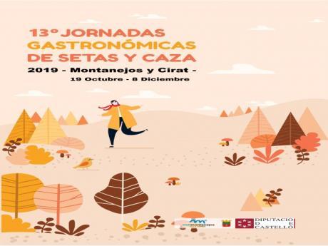 13ªJornadas Gastronómicas de Setas y Caza 2019