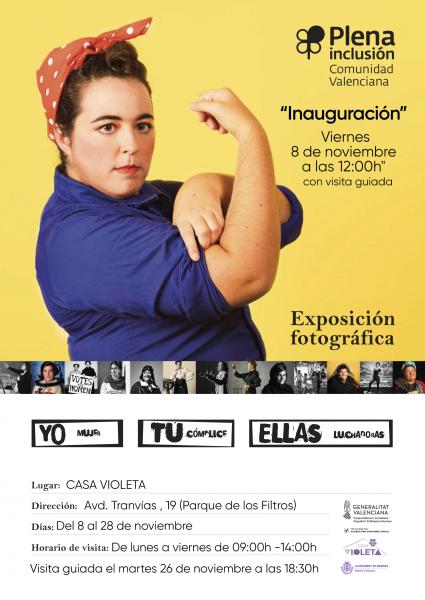 """Exposición """"Yo, Tú, Ellas"""" en Manises"""