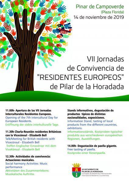 VII Jornadas de Convivencia de 'Residentes Europeos' 2019 en Pilar de la Horadada
