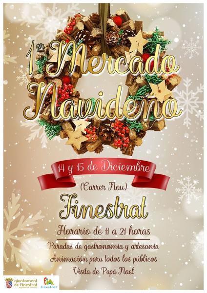 1º Mercado Navideño Finestrat 2019