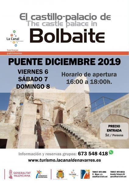 Visita el Castillo de Bolbaite