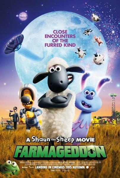 Cine Animación: La oveja Shaun - La películ:a Granjaguedón
