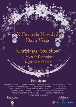 "X Feria de Navidad de ""Christmas Food Show"" 2019 en Daya Vieja"