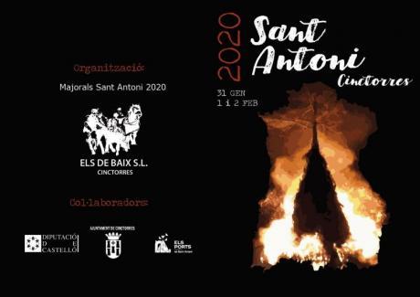 Festividad de San Antonio Abad 2020 a Cinctorres