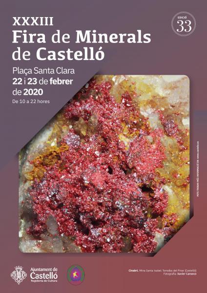 XXXIII FERIA DE MINERALES DE CASTELLÓ