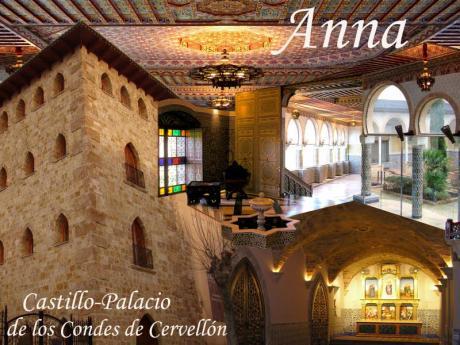 Visita el Palacio de los Condes de Cervellón en Anna