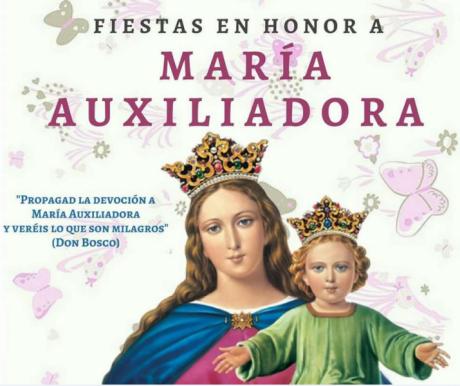 Fiestas en honor a María Auxiliadora. El Campello.