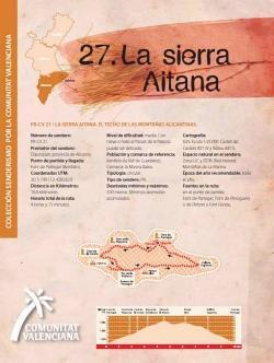 Ruta 27  La sierra Aitana