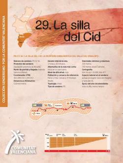 Ruta 29 La silla del Cid