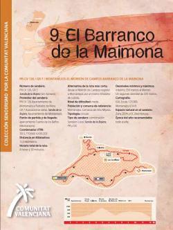 Ruta 9 El Barranco de la Maimona