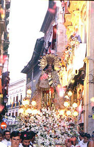Festividad de Nuestra Señora de los Desamparados en Valencia