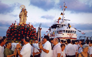 Festivities in honour of Nuestra Señora del Carmen