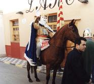Rei Pàixaro, en honor de San Antonio Abad