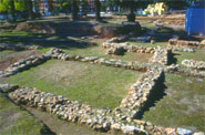 Archäologische Überreste des Portus Illicitanus