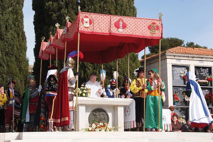 Festes de moros i cristians en honor de Sant Jordi Màrtir